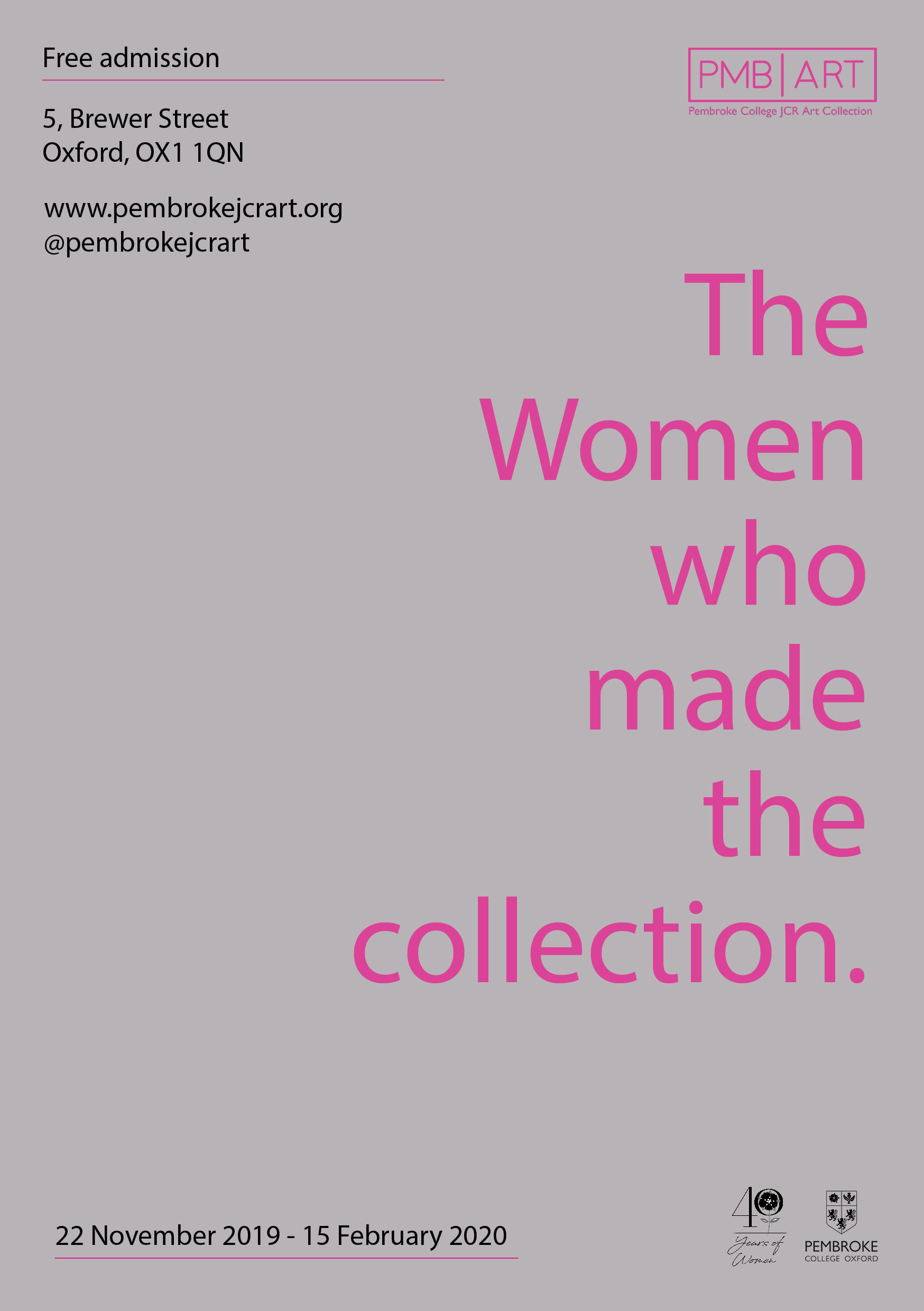 The Women who made the collection