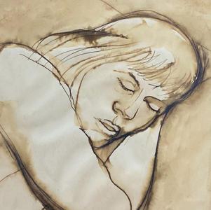 Woman Asleep, 1967