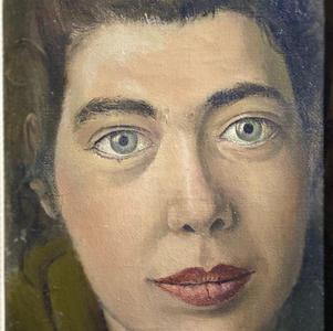 Portrait of Govette, 1955