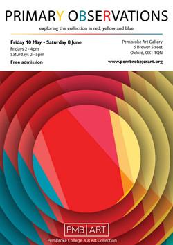 Primary Observations Exhibition Flyer v.
