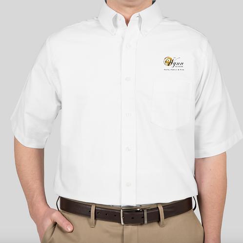 Short-sleeve Button-Up