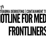 COVID-19 Hotline for medical frontliners