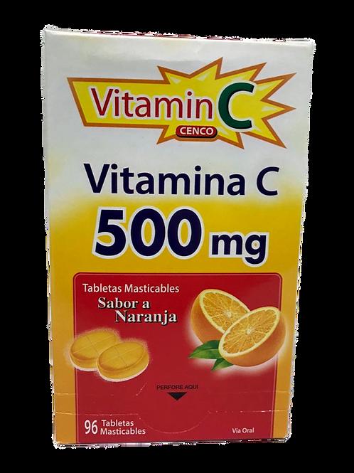 Vitamina C 500mg CENCO Labs x 12