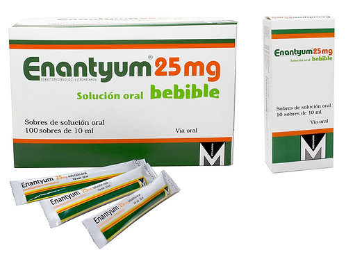 Enantyum 25mg Solucion Oral