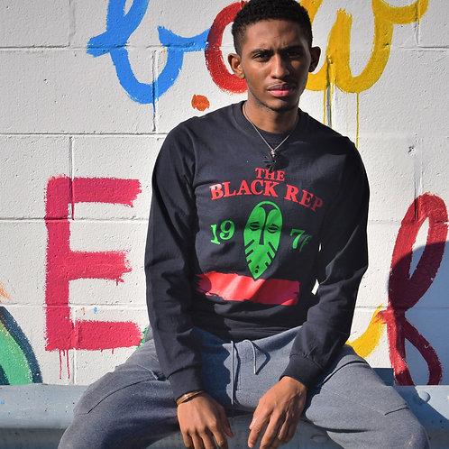The Black Rep Red Black & Green Long Sleeve T-Shirt