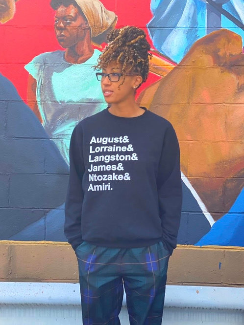The Black Rep Playwright Sweat Shirt