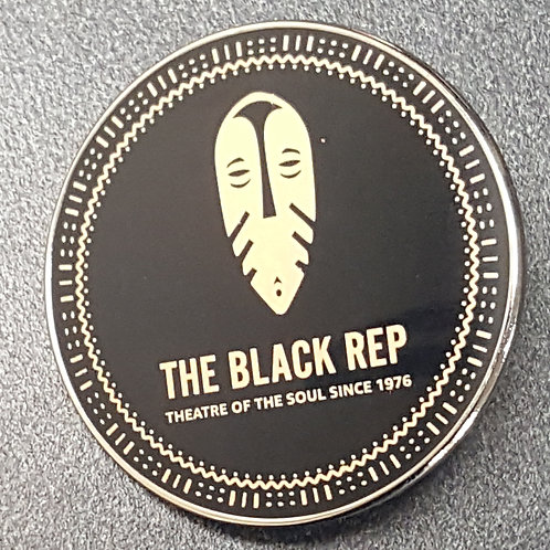 The Black Rep Lapel Pin