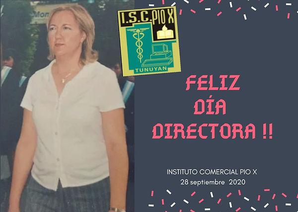 FELIZ DÍA DE LA DIRECTORA