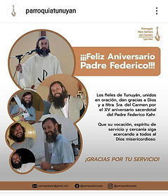 15°ANIVERSARIO_SACERDOTAL_PADRE_FEDERICO