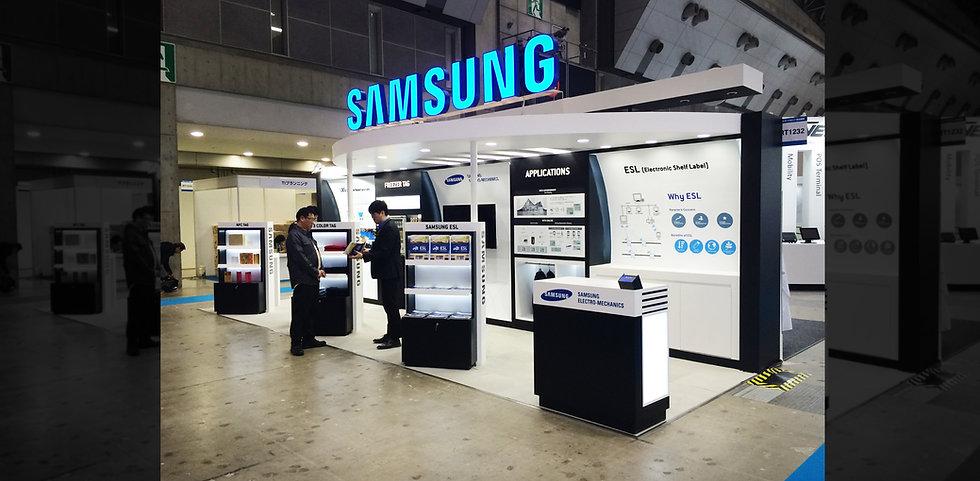 Samsung-SEM│Retail-Tech│Tokyo-Big-sight-