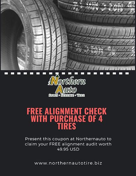 Alignment Northernauto tire