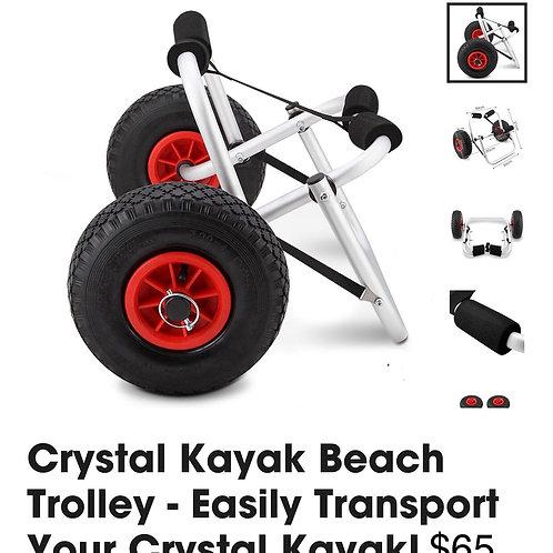 Crystal Kajak Beach Trolley