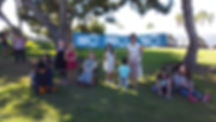 SB kids at picnic
