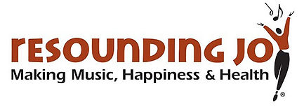 Resounding joy making music, happiness and health