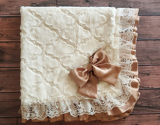 Vintage Lattice Blanket (WS)