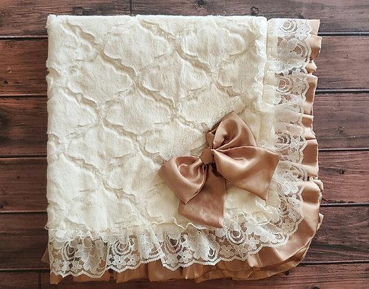 Vintage Lattice Blanket