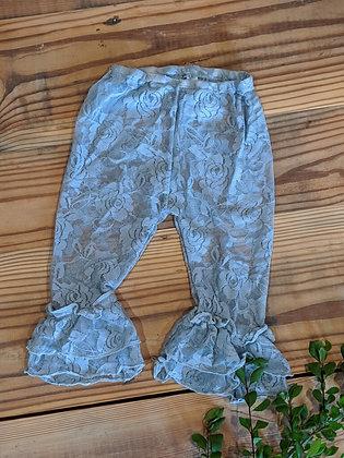 Gray Lace Legging