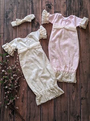 Vintage Lace Gown (WS)