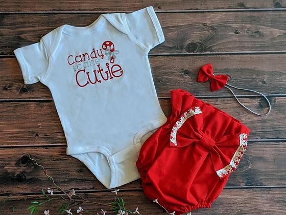 Candy Cane Cutie Bodysuit (WS)