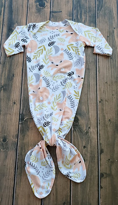 Sleepy Fox Cozy Knotted Gown