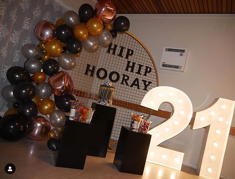Birthday event hire Canberra