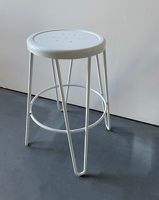White hairpin stool photoshop.png