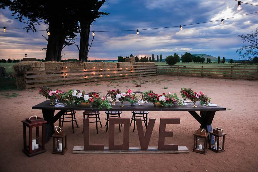 Statement table hire Canberra
