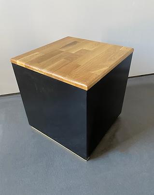 Black cube stool photoshop.png