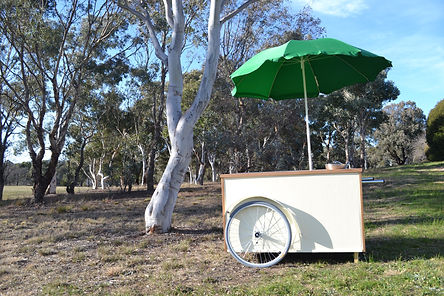 Gelato cart Canberra