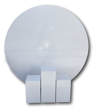 Round wall hire Canberra