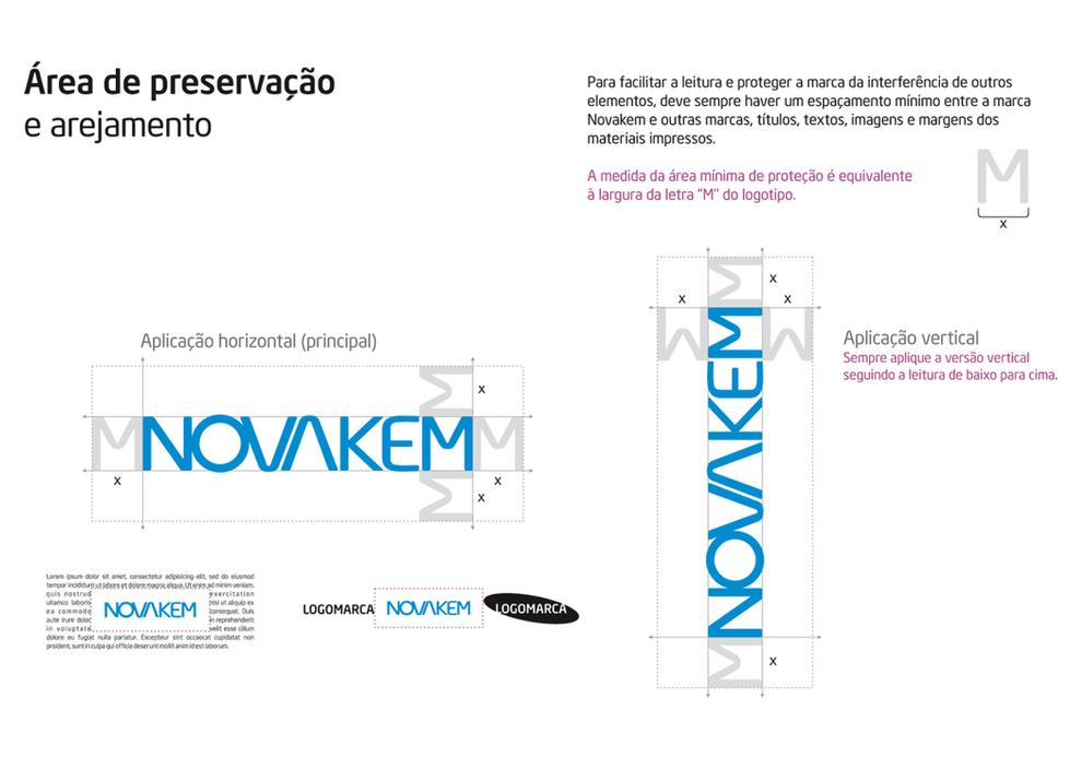 Novakem - Indústria química, tecnologia cimenteira e concreteira - branding, comunicação corporativa, desigm, identidade visual, manual da marca.