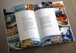 Apresentação profissional de projeto para turismo
