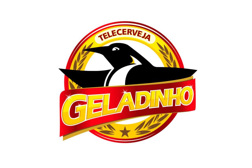 Geladinho - marca para distribuidora de bebidas - branding, identidade visual