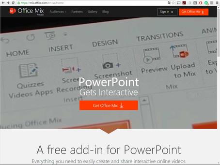 Conheça o Office Mix, o plugin do PowerPoint que promete tornar fácil a criação de apresentações par