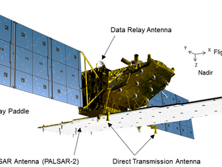 Commercialisation des images du satellite ALOS-2