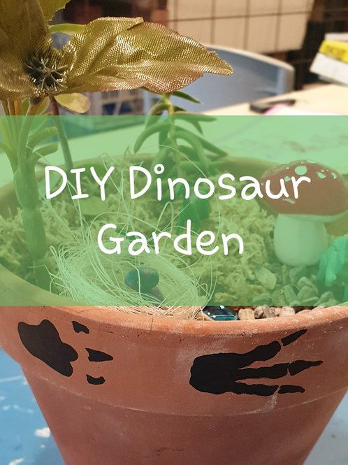 DIY Fairy / Dinosaur Garden Kit