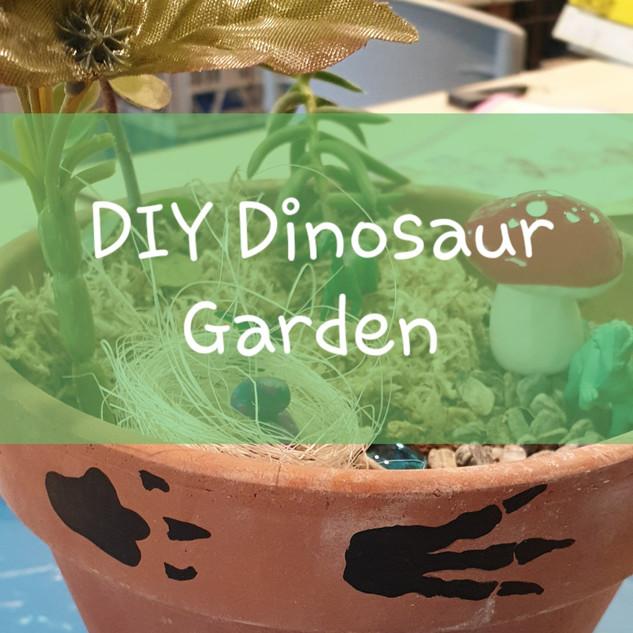 DIY Dinosaur OR Fairy Garden