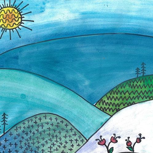 Art Game: Roll-a-Landscape