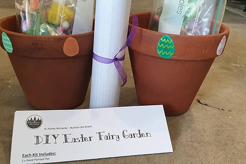 DIY Easter Fairy Garden Kit