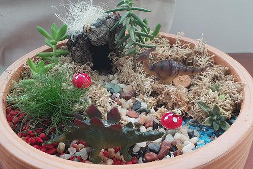 DIY Fairy / Dinosaur Garden Kit