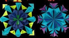 Radial Paper Sculptures (8+)