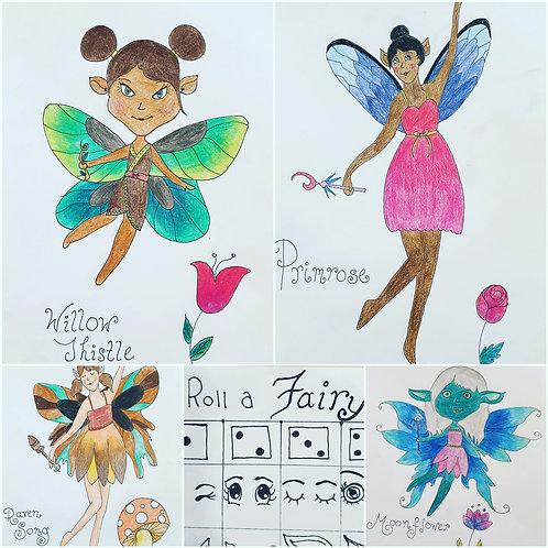 Art Game - Roll A Fairy