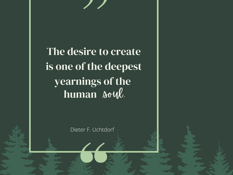 The Desire and Ability to Create