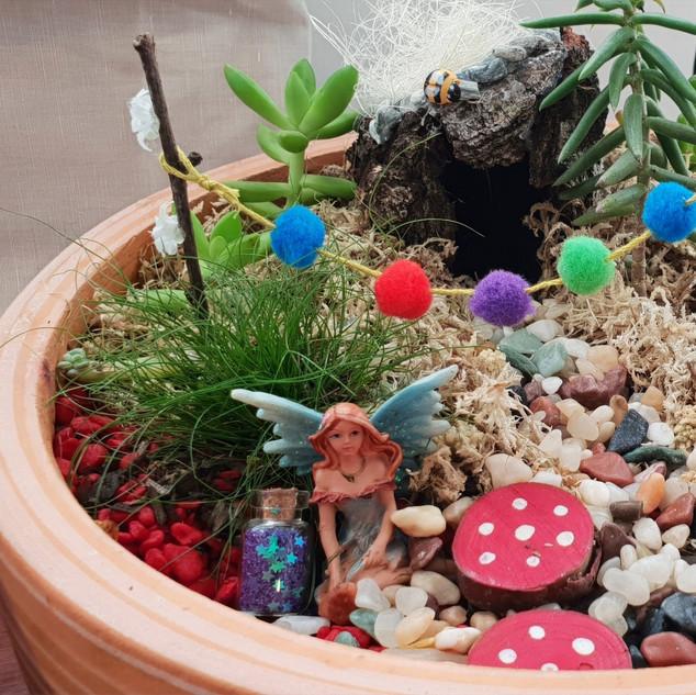 Fairy or Dinosaur Garden
