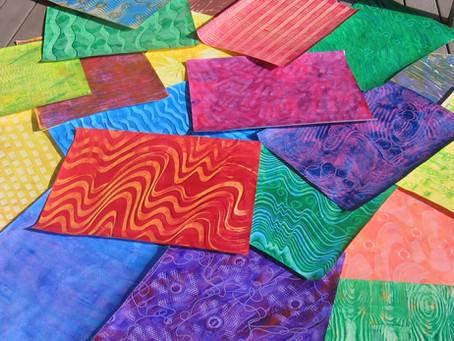 How to make Painted Paper and some useful ideas what to do with it.