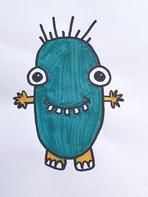Art Game - Roll-a-Monster