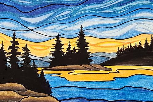 Homesick for the North - Original Artwork