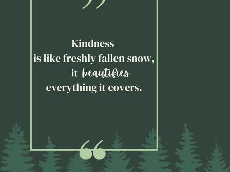 Kindness is beauty