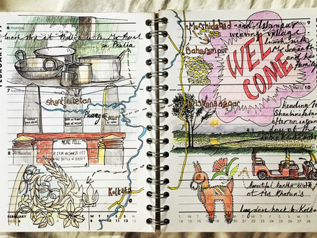 Travel Sketching Ideas