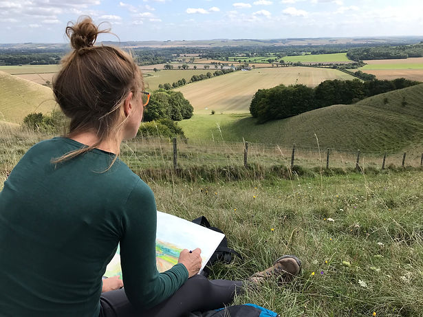 Drawing on Pewsey Downs.jpg